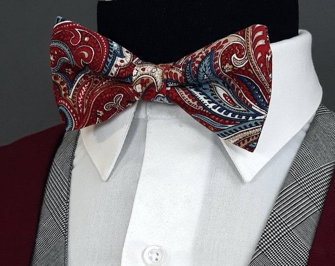 Black Bow Tie, Black Bowtie, Floral Bow Tie, Red Bow Tie, Boys, Mens Bow Tie, Prom, Bride,  Fathers Day, Birthday, Gift, Wedding, Dad