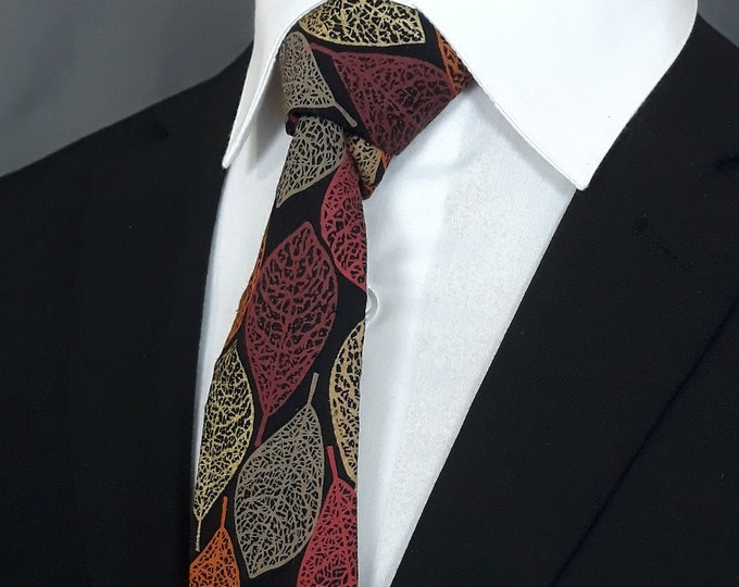 Fall Weatherman Necktie – Necktie for Fall, Makes the Perfect Gift for the Weatherman