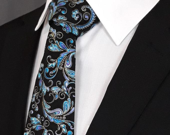 Floral Necktie – Mens Floral Ties