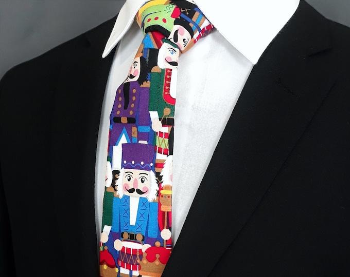 Nutcracker Tie – Mens Nutcracker Necktie for Christmas
