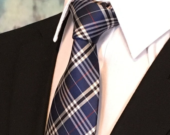 Mens Plaid Tie – Plaid Neckties for Men