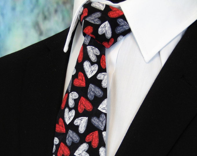 Valentines Day Gift for Him – Valenties Ties
