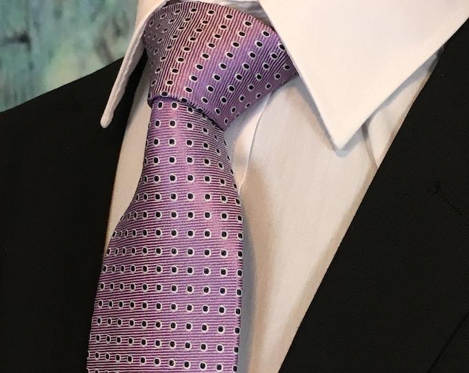 Tie Lavendar – Mens Lavendar Silk Necktie
