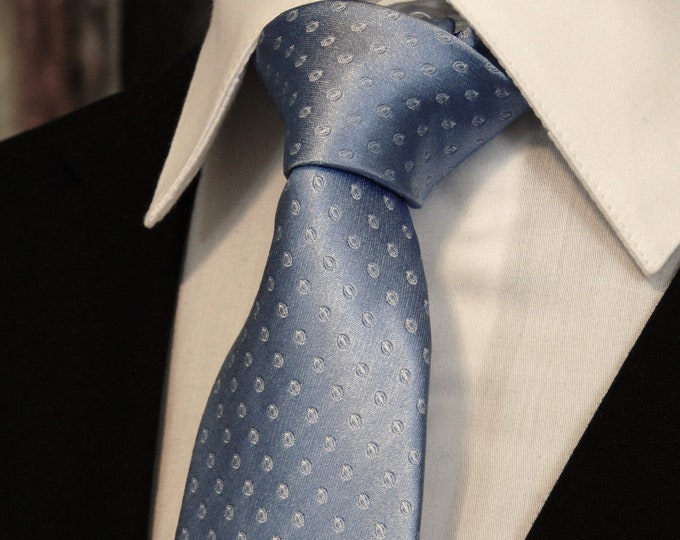 Light Blue Ties – Mens Silk Light Blue Necktie