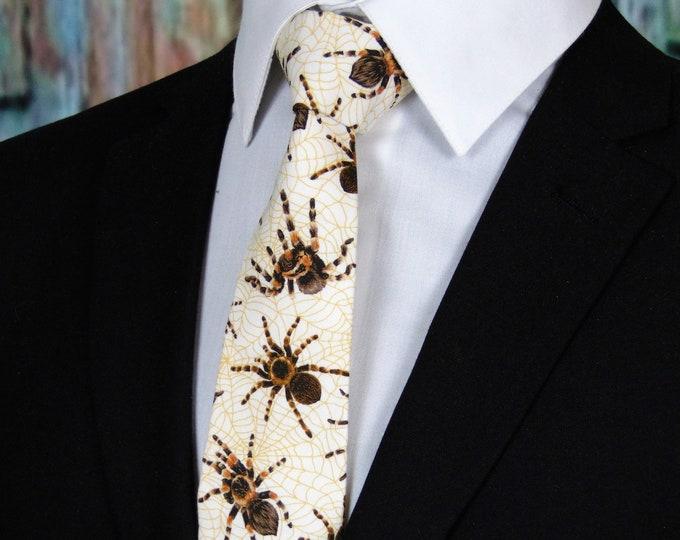 Spider Tie – Tarantula Spider Necktie