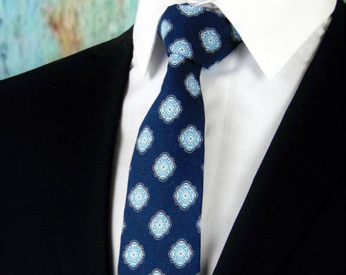 Navy Blue Necktie, Navy Blue Tie, Mens Necktie, Mens Tie, Navy Necktie, Navy Tie, Blue Necktie, Blue Tie, Wedding, Bridal, Father, Gift, Dad