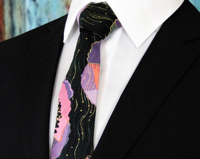 Ties with Flowers – Mens Unique Floral Necktie