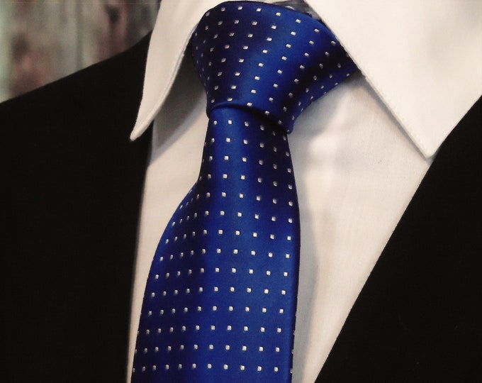 Cobalt Blue Ties – Mens Cobalt Blue Necktie