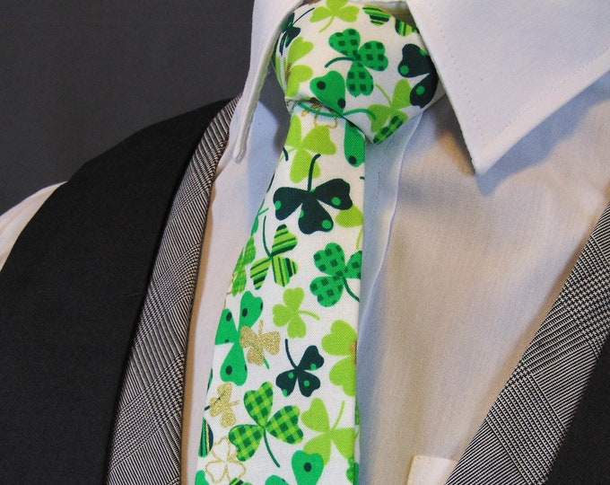Ties for St. Patricks Day – Mens or Boys St. Patricks Days Neckties