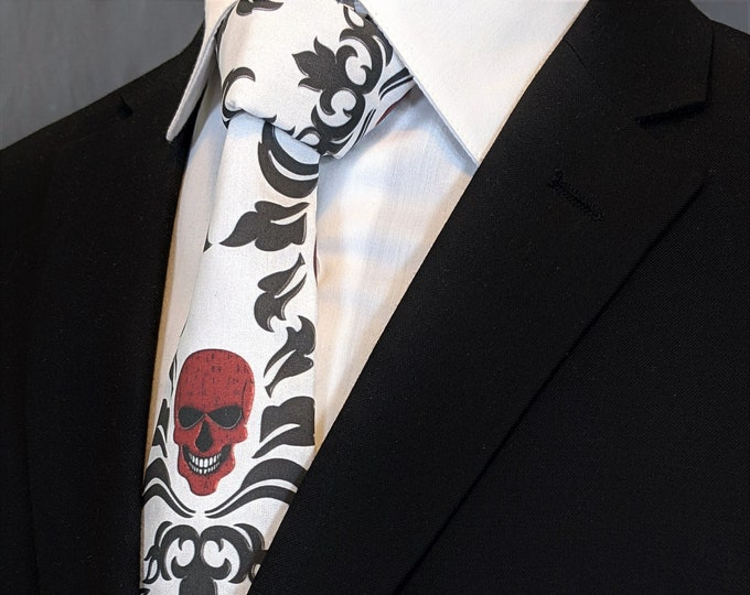 Skull – Necktie for Skull Lovers