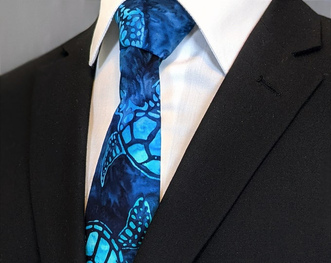 Turtle Gifts – Neckties with Turtles for Turtle Wedding