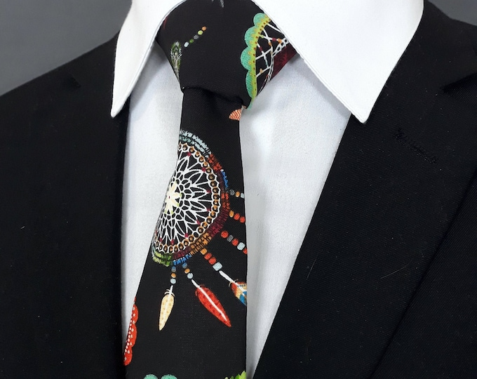 Dreamcatcher Necktie – Native American Dream Catcher Ties