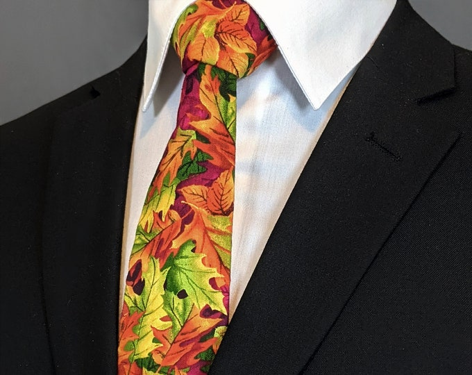 Fall Ties – Neck Tie for Fall, Makes the Perfect Gift for the Weatherman