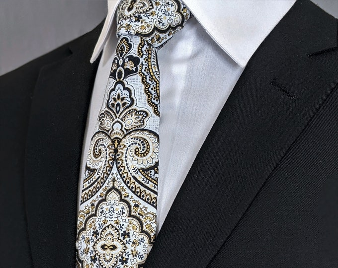 Ties for Weddings – Mens Formal Wedding Necktie, Available as a Extra Long Tie