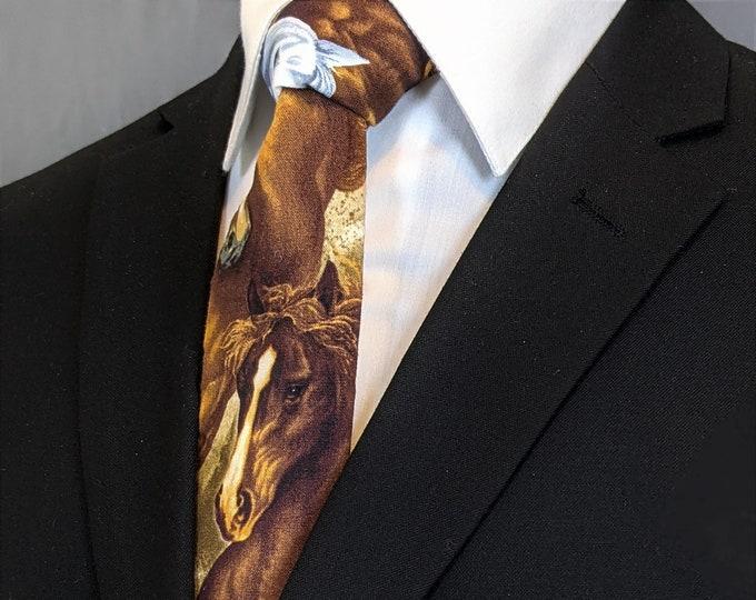 Horse Necktie –  Mens Ties with Horses