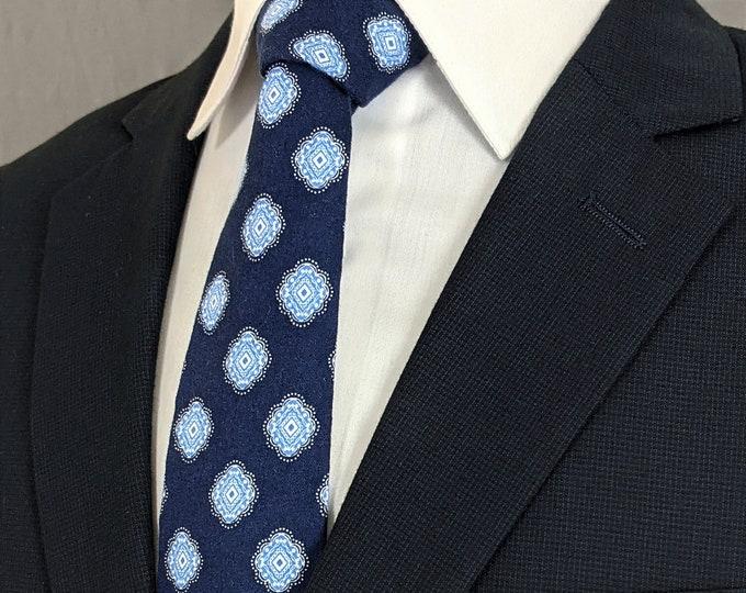 Navy Blue Necktie, Navy Blue Tie, Mens Necktie, Mens Tie, Navy Necktie, Navy Tie, Blue Necktie, Blue Tie, Wedding, Bridal, Father, Gift, Dad
