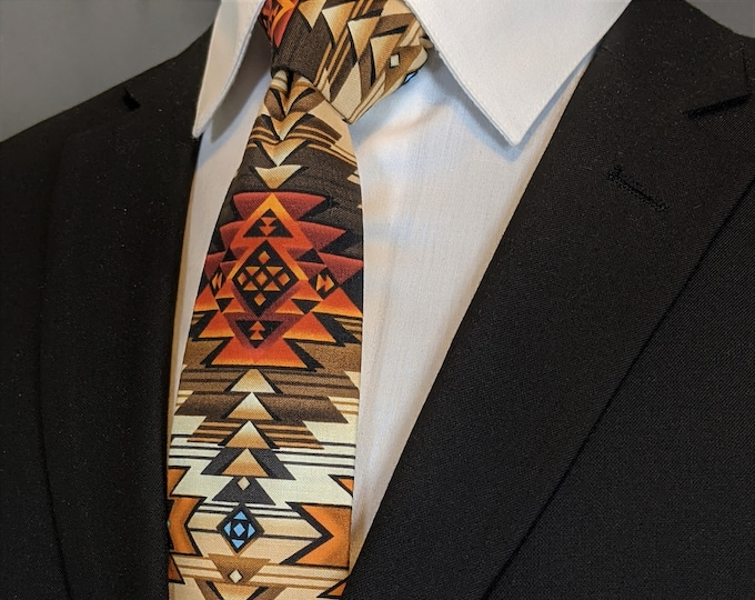 Southwest Tie – Mens Native American Necktie