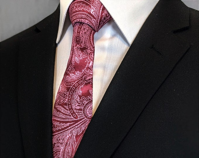 Floral Paisley Neck Tie – Mens Paisley Ties