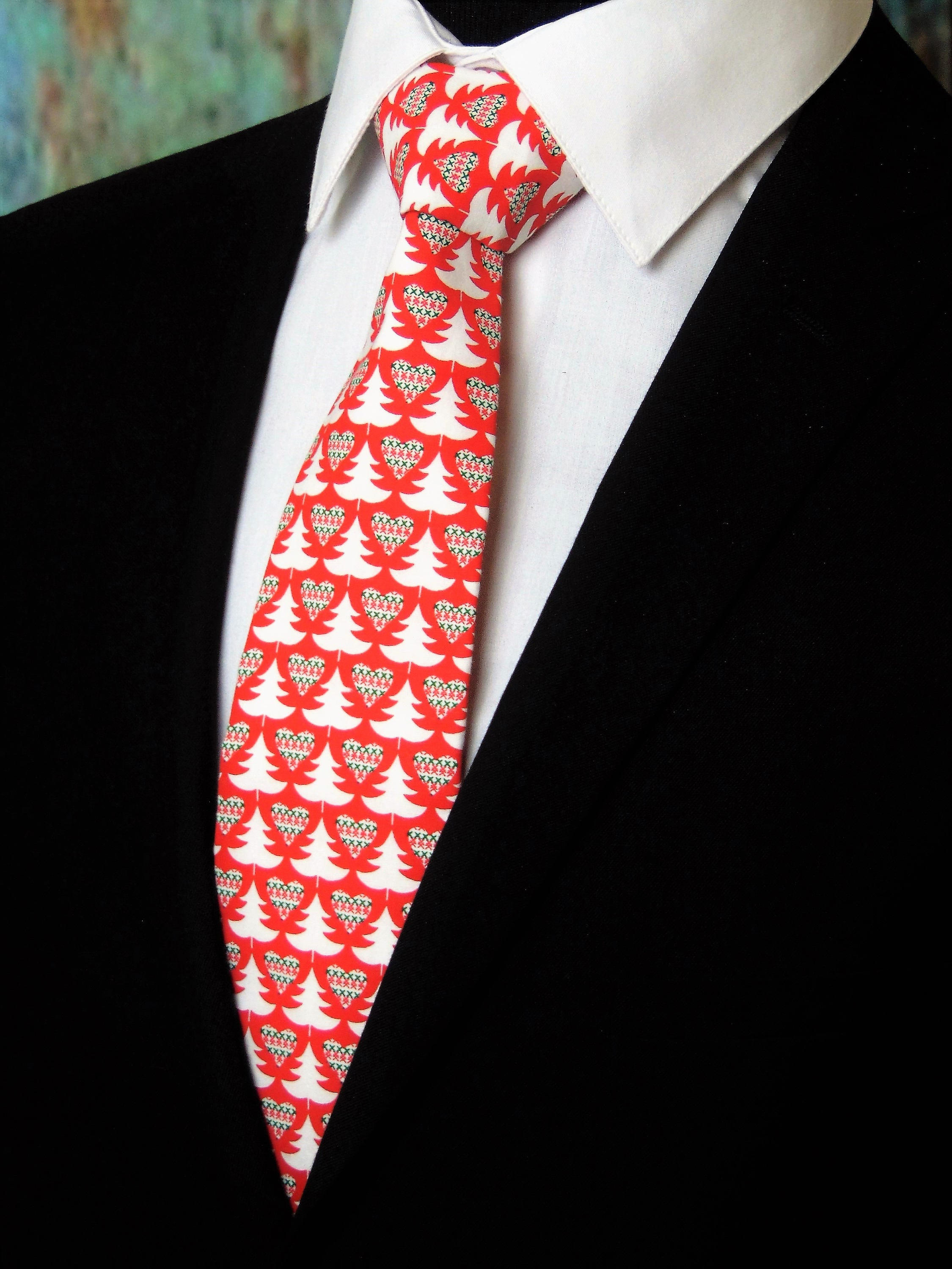 Christmas Tie – Classic Christmas Neck Tie for Men also ...