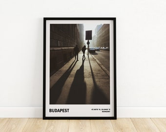Budapest fine art print, Travel city poster, Street photography, Gift from Hungary, Budapest wall art, Travel photography
