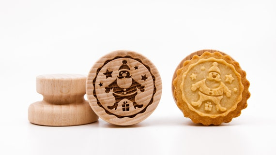 """No. 036 Wooden stamp deeply engraved """"Santa Claus"""""""