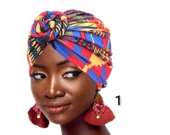 Amber Jane Ankara Turbans