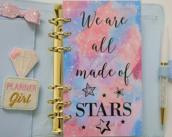 We Are All Made Of Stars Personal, A5, A6, B6 & Pocket Size Planner Dashboards