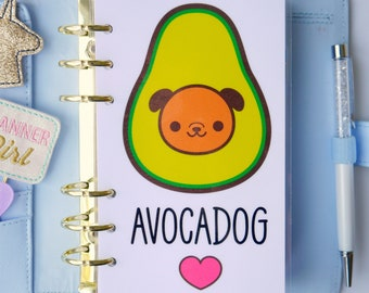 Avocadog Personal, A5, A6, B6 and Pocket Size Planner Dashboards