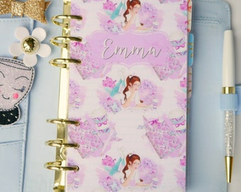 Personalised Planner Girl Personal, A5, A6, B6 and Pocket Size Planner Dashboard