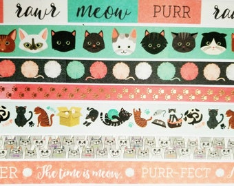 The Cat's Meow Washi Sampler Set