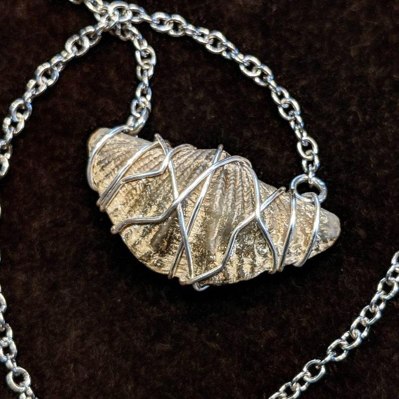 Brachiopod Pendant