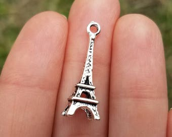 Eiffel tower charms etsy mozeypictures Image collections