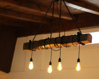 Rustic bar lights Rustic Interior Ceiling Lamp Bar Decor Bulb Lamp Bar Lights Rustic Lighting Housewarming Gift Chandelier Lamp Wooden Lamp Rustic Lamp Bar Decor Etsy Bar Lighting Etsy