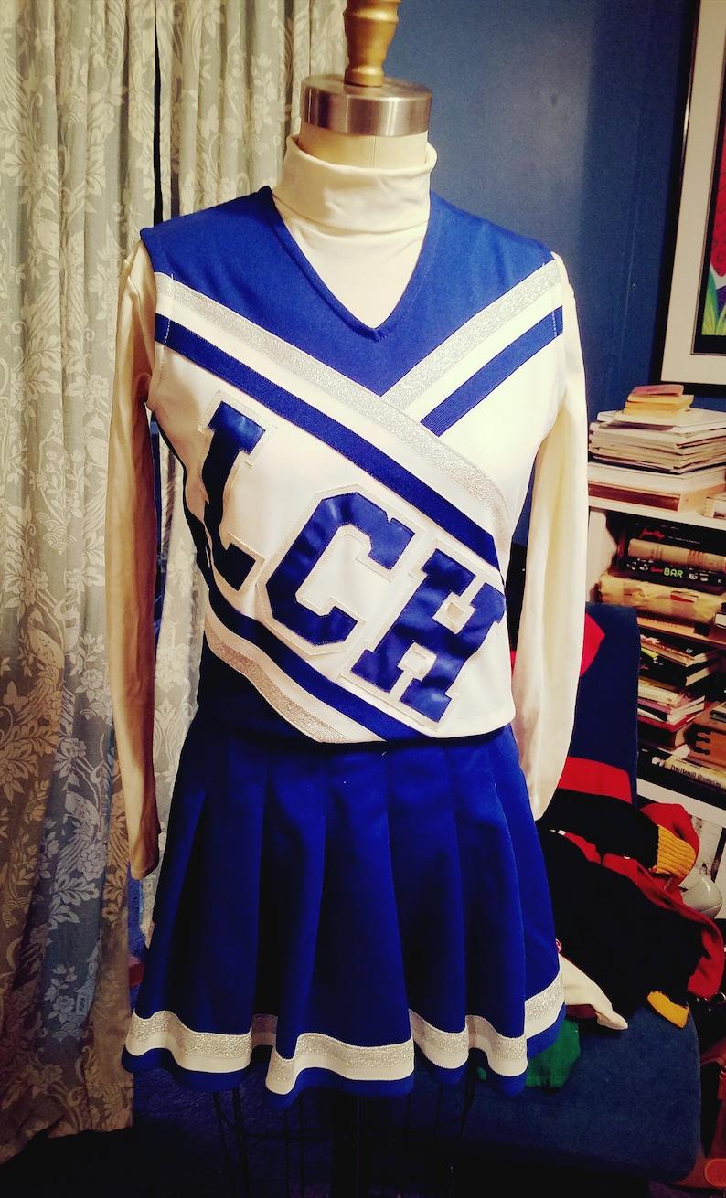 7f35077e246 Movie Production Vintage 4 piece Cheerleaders Uniform