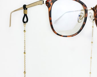 aa665acd6ca Gold Satellite Chain Glasses Chain