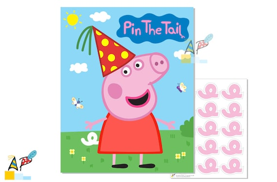 Modest image pertaining to printable peppa pig