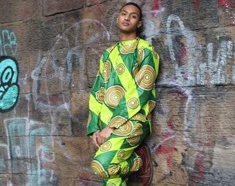 Festival Clothing Ankara Shirt Kente Shirt Ankara Suit African Print Suit African Tracksuit Festival Shirt Festival Clothing Ankara Shirt