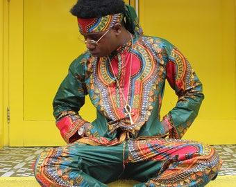 Mens Shirt African Dashiki Shirt African Top Festival Shirt African Clothing African Two piece Ethical Clothing Ethnic Shirt Festival Shirt