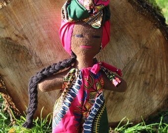 African Dolls And Kids