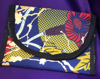 African Print Purse Gold Coin Bag Ankara Purse