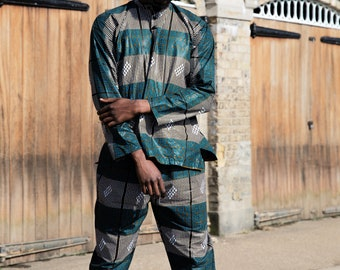 African Trousers African Pants Lounge Pants Festival Trousers Joggers Festival Pants Wax Print trousers African Clothing Festival Clothing