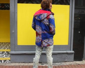 African Parka African Jacket Winter Coat African Winter Coat Dashiki Coat African Clothing