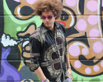 CONTINENT CLOTHING African Shirt Tribal Shirt Dashiki Shirt Festival Clothing African Clothing Summer Shirt Festival Shirt Dashiki Top