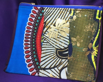 African Print Purse Patchwork Purse Ankara Purse