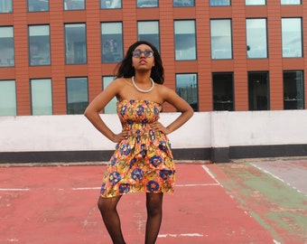 African Dress African Print Dress Ankara Dress African Clothing For Women Festival Clothing Boho Dress Ethnic Dress Ethical Clothing Kente