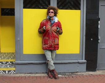 Dashiki Coat African Parka African Jacket Winter Coat African Winter Coat Dashiki Parka