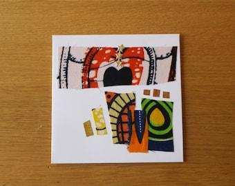African Cards - African Christmas Cards - African Greeting Card - African Print Birthday Card - Christmas Card Pack - Wedding Invitation