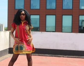 African Dress Festival Dress Bohemian Dress Ethnic Dress Festival Clothing Continent Clothing Ethical Clothing Dashiki Gypsy Dress Boho