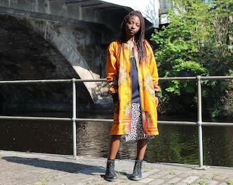 African Trench Coat Ankara Summer Coat Ankara Summer Jacket African Clothing African Bomber Jacket