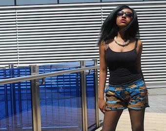 African Clothing African Short Shorts Ankara Shorts Festival Shorts Hot Pants Short Shorts Booty Shorts Knickers African Hot pants